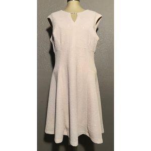 Studio One Sleeveless Flare Dress Sz. 16 NWOT